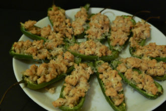 Light Jalapeno Poppers