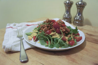 Ground Chicken Taco Salad Recipe
