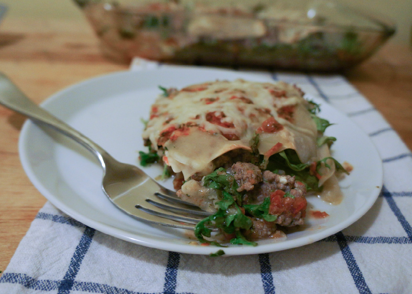 Weight Watchers Lasagna