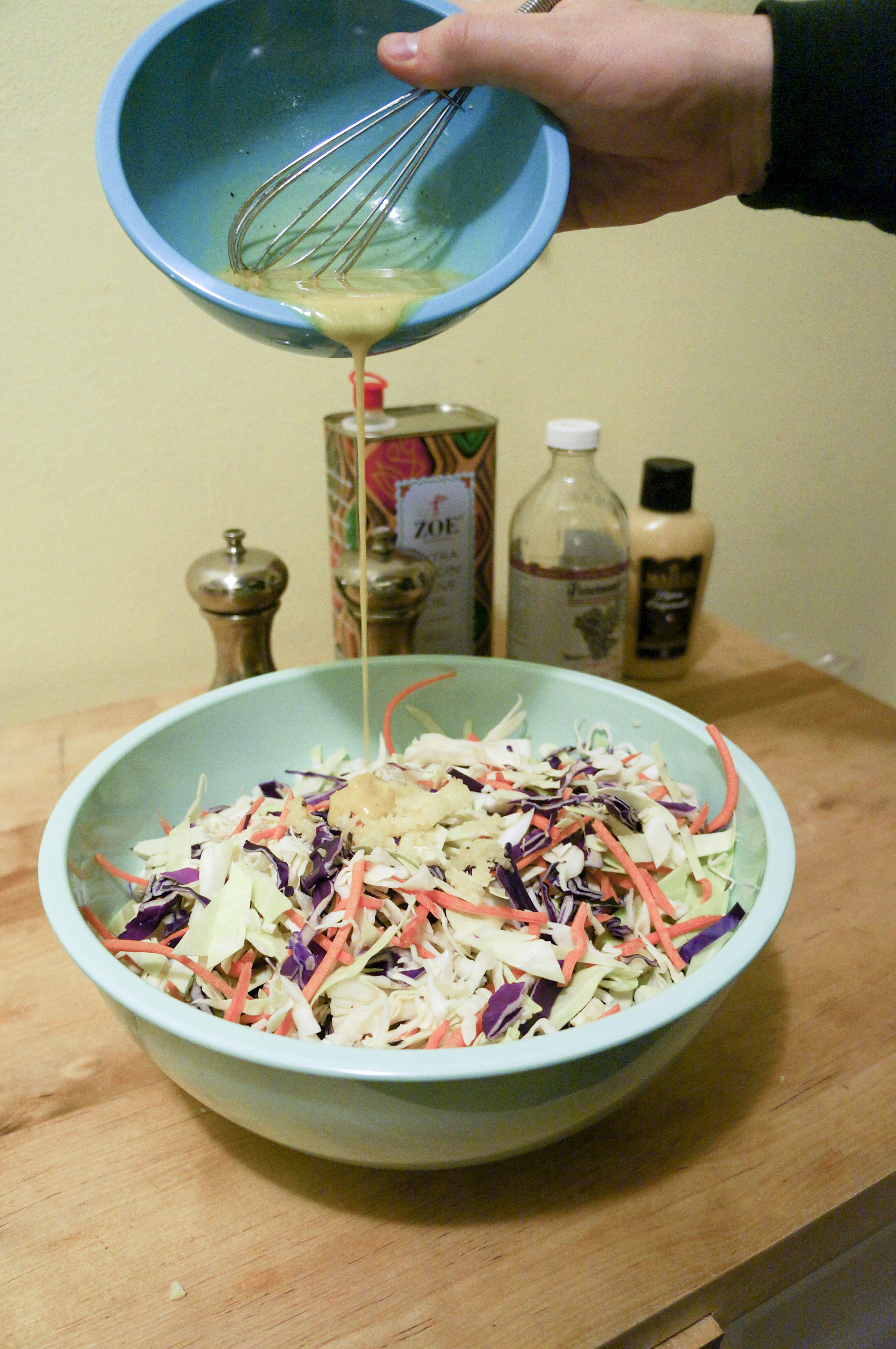 Made Over Coleslaw – No Mayo